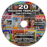 20 Templates on DVD-Rom