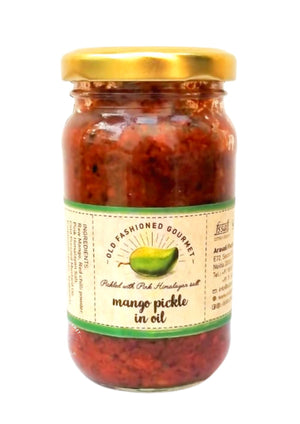 Mango pickle in oil, 200gm