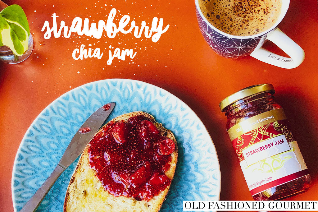 Strawberry Chia Preserve