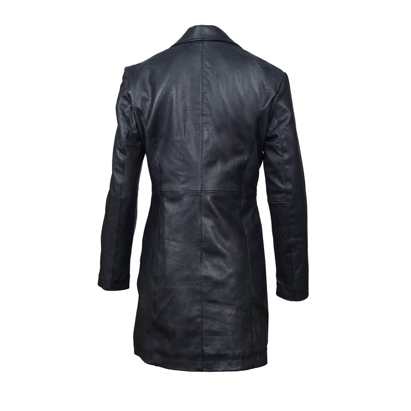 Top Grain Cowhide Leather Jacket-For ladies-karizmamoto