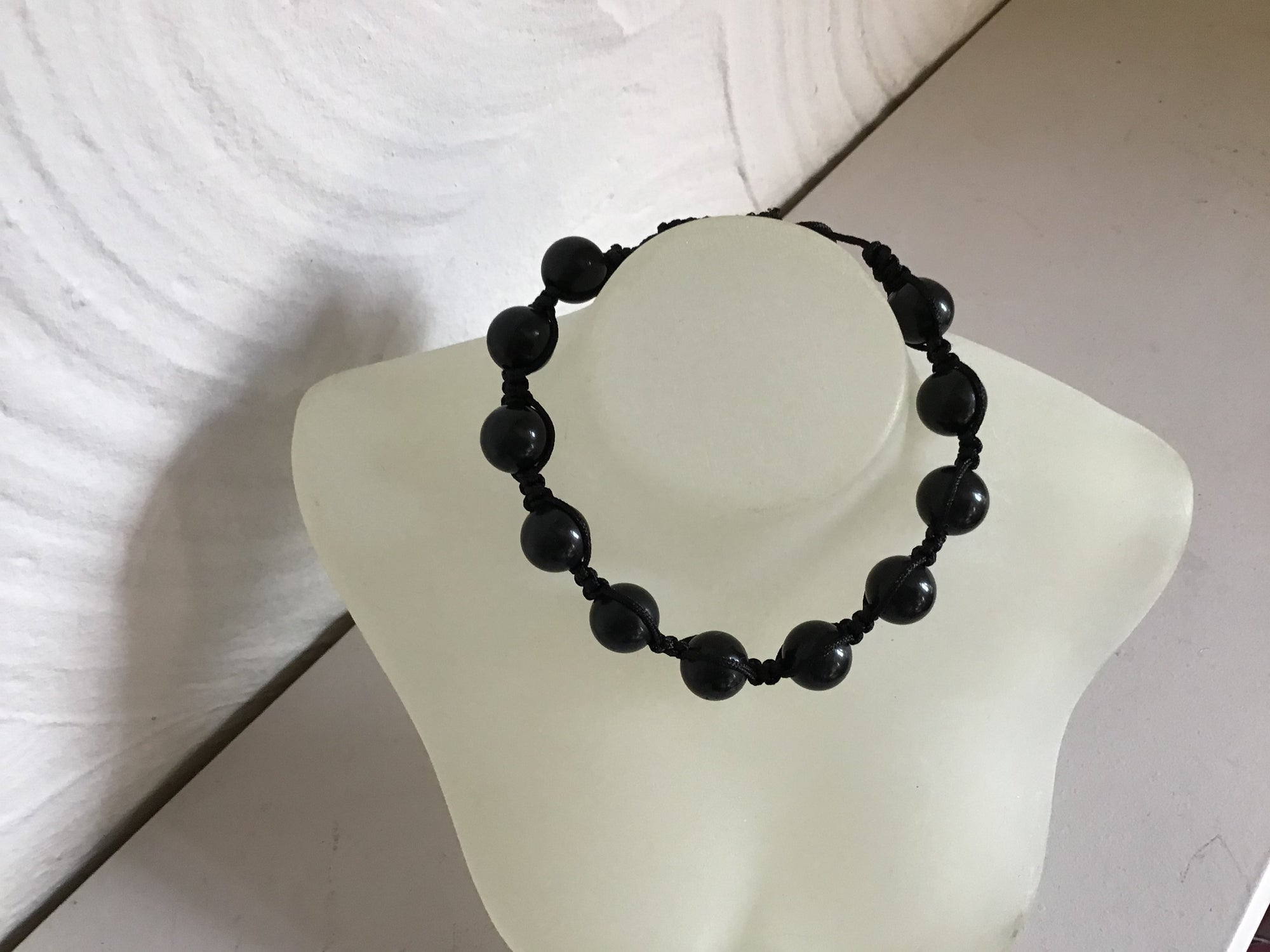 Friendship bracelet Black Onyx stone