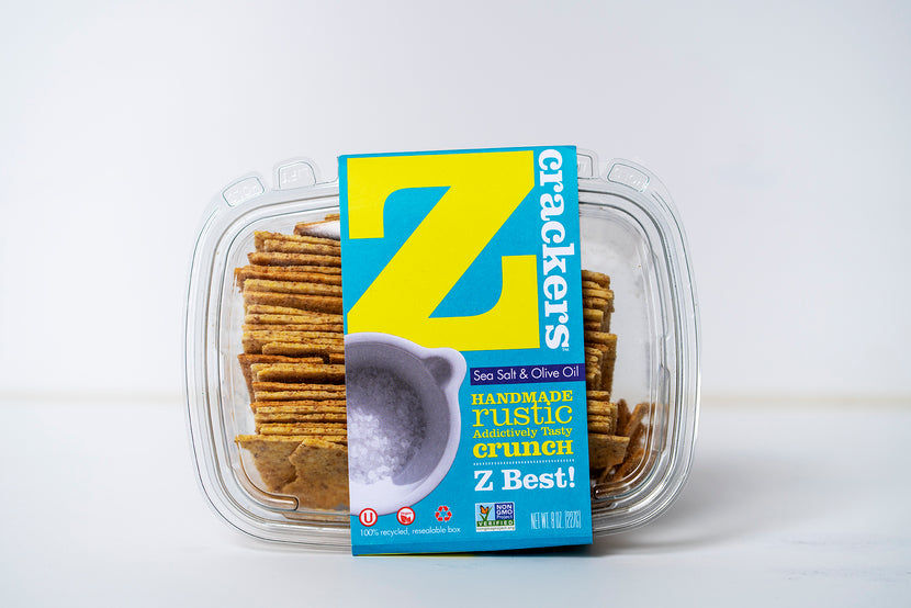 Z Crackers  Sea Salt + Olive Oil