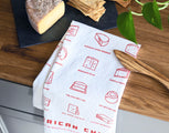 American Cheese Tea Towel