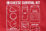 Cheese Survival Kit Tote