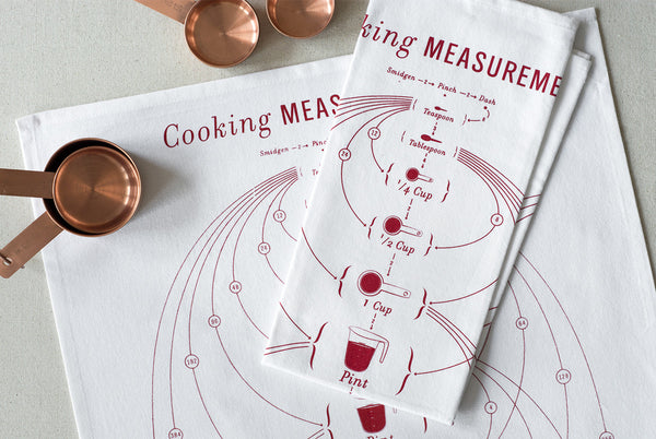 Cooking Measurements Towel