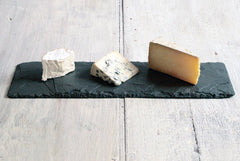 Special Edition Slate Cheese Board, Wood Cheese Knife, & Soapstone Pencil