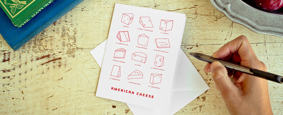 American Cheese Greeting Card