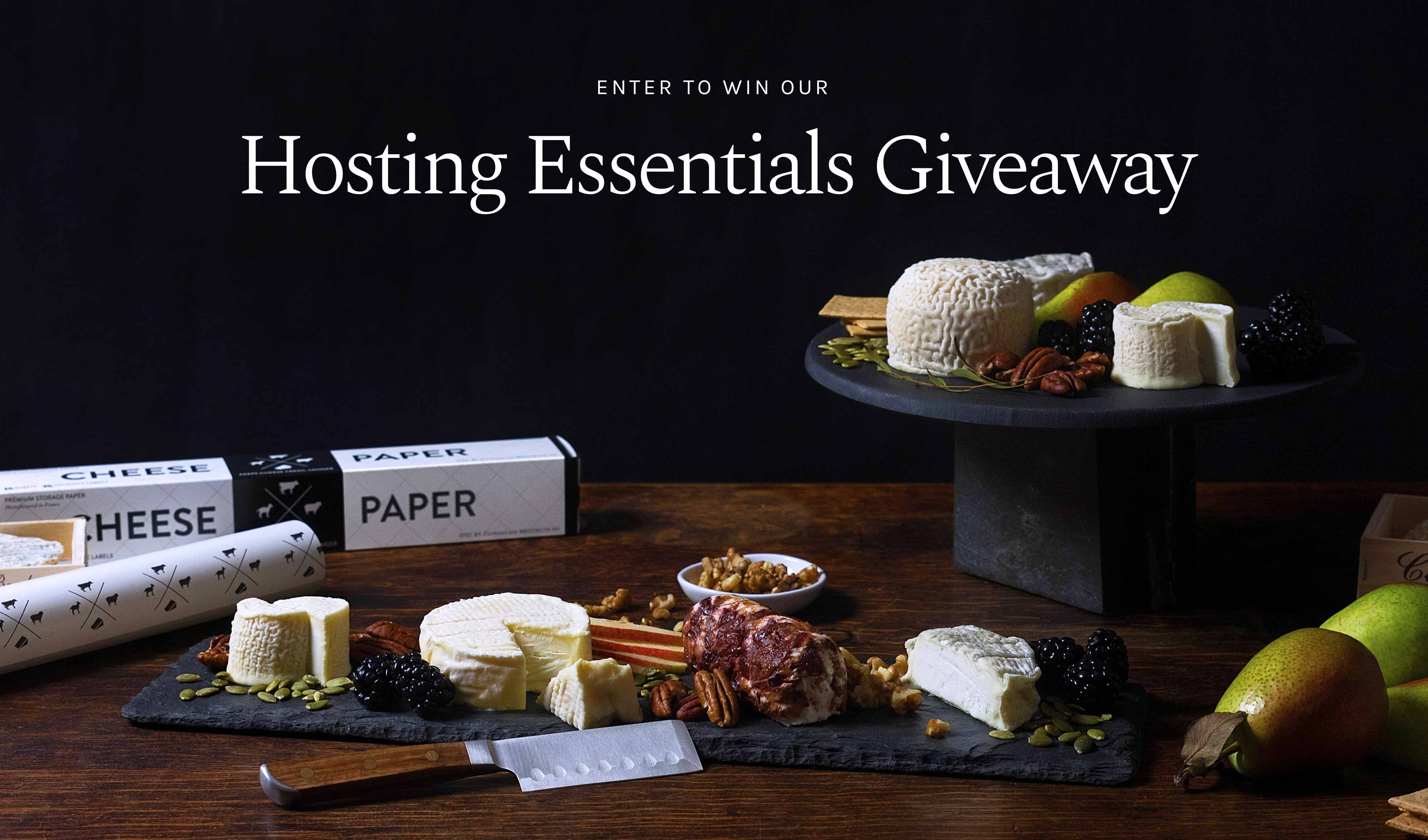 Enter to Win a Vermont Inspired Cheese Plate