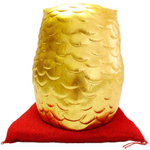 Sakuda Gold-leafed Lucky Charm Owl