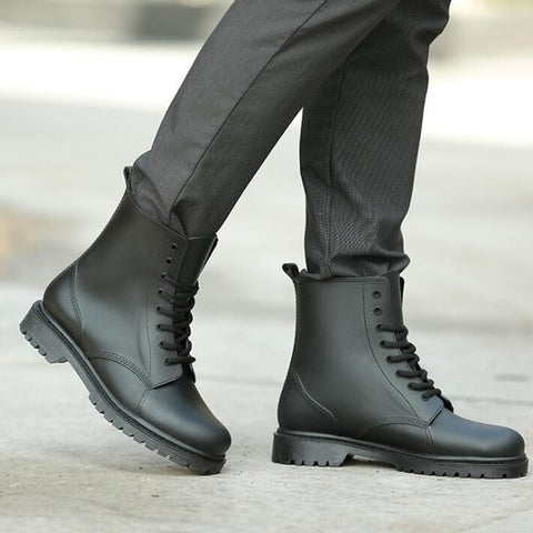 Men Ankle Boots Fashion British Style
