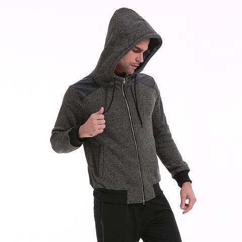 Hoodies Men Zipper Hooded Streetwear