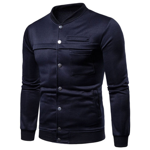 Sweatshirts Men Long Sleeve Coats