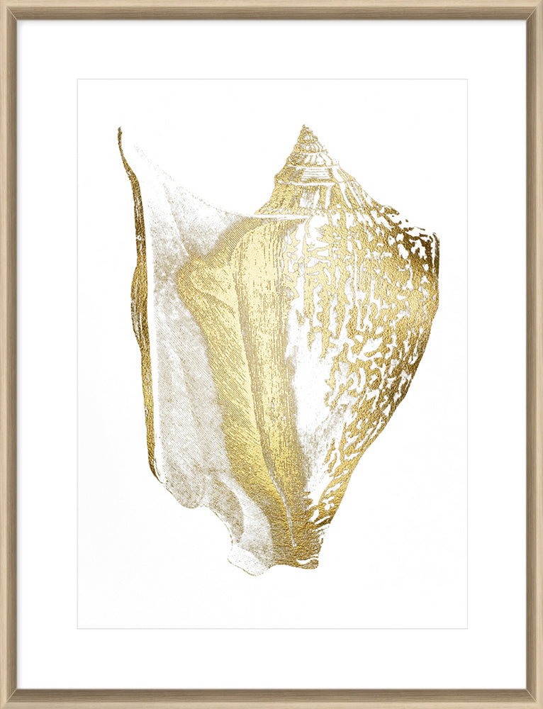 Gold Foil Shell III