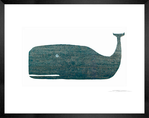 Grey Whale Single Etching I