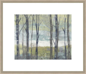 Pastel Birches II