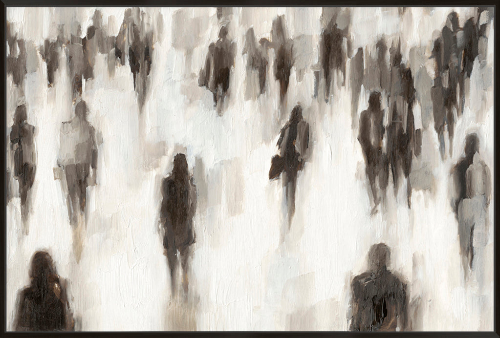 Commuters II - Canvas