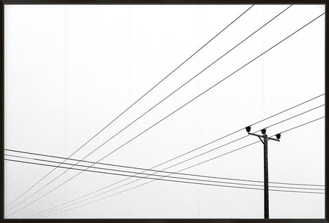 Power Lines - Canvas