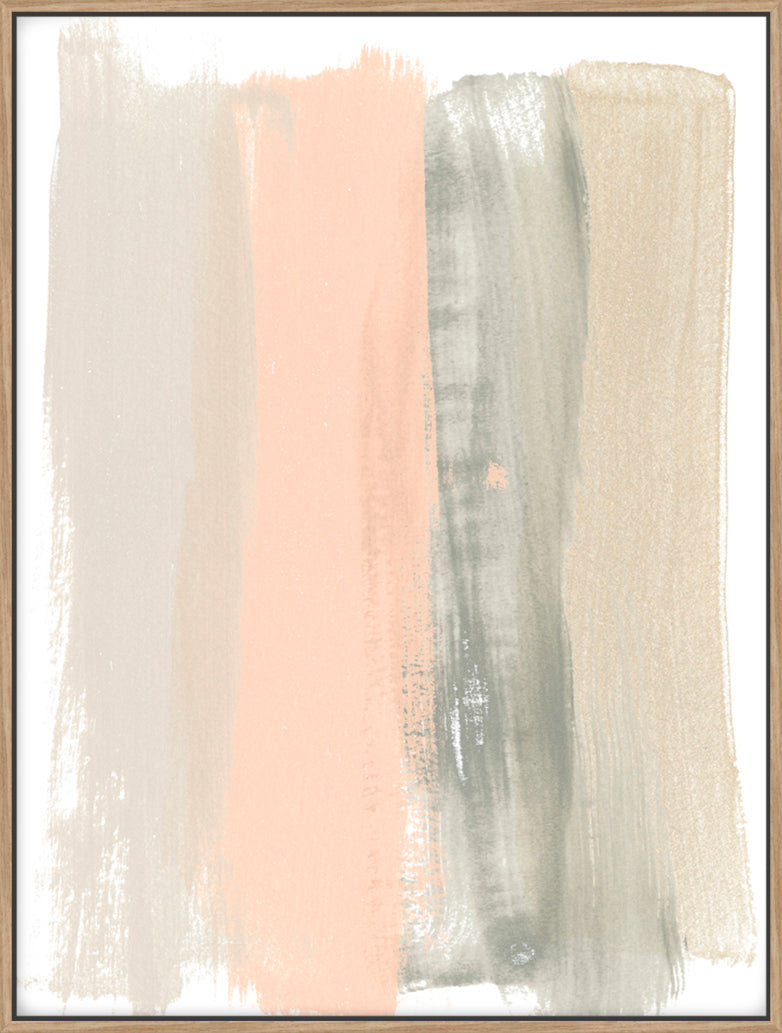 Blush Abstract II - Canvas