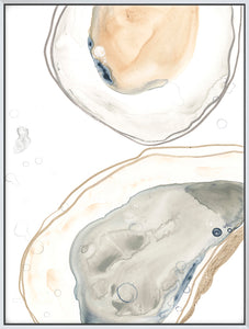 Ocean Oysters I - Canvas