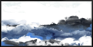 Sea Surface Ii 143X73Cm / Black