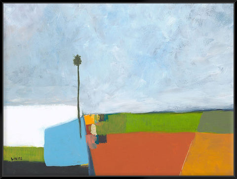 Under A Stormy Sky 123X93Cm / Black