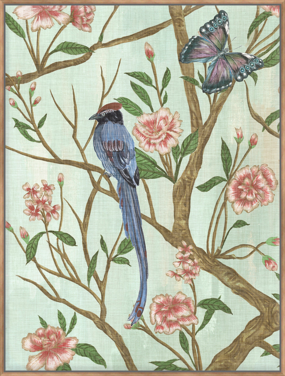 Delicate Chinoiserie I - Canvas