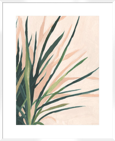 Frond Impression Ii 104X84Cm / Boxed White