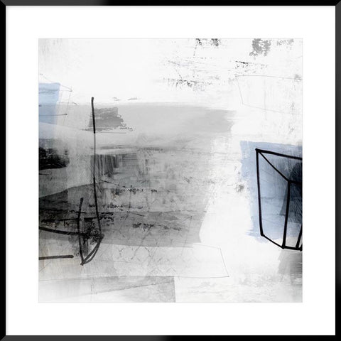 Grounded Iv 64X64Cm / Boxed Black