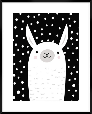 Mix & Match Animal Vi 64X54Cm / Boxed Black