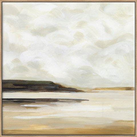 Cloudy Coast I - Canvas