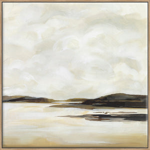Cloudy Coast II - Canvas