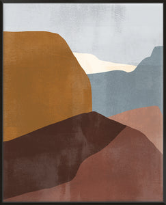Sedona Colorblock III - Canvas