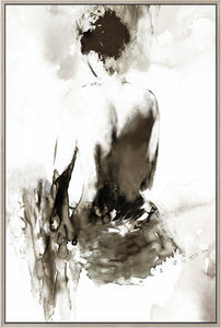 Ink Lady  canvas