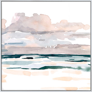 Soft Coastal Abstract I  - Canvas