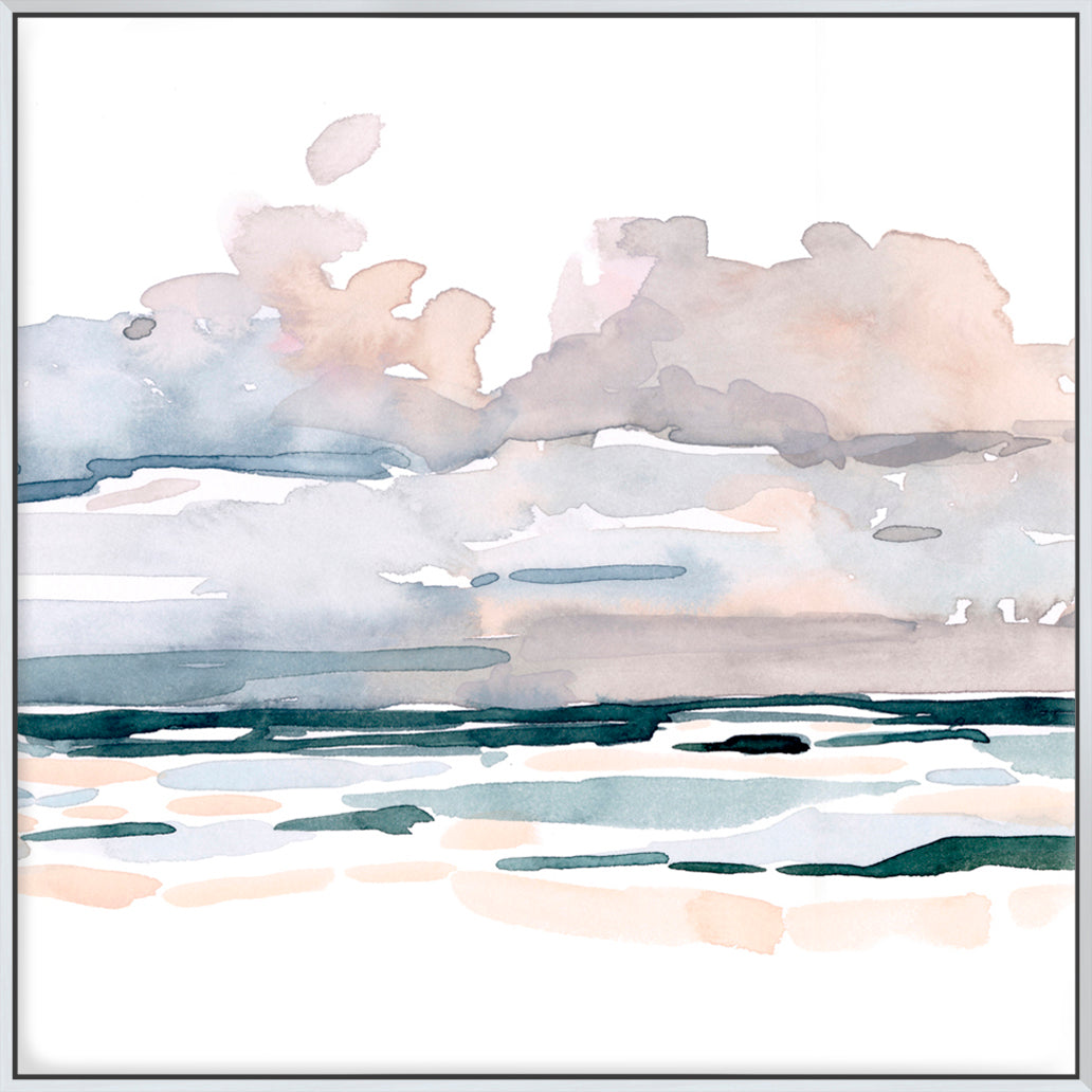 Soft Coastal Abstract II  - Canvas