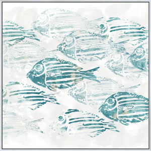 Sealife Batik II - Canvas