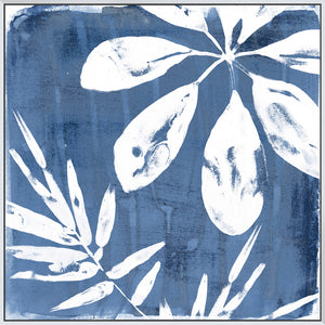 Tropical Indigo Impressions II - Canvas