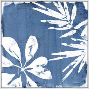 Tropical Indigo Impressions III - Canvas