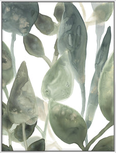 Water Leaves Iv 123X93Cm / White