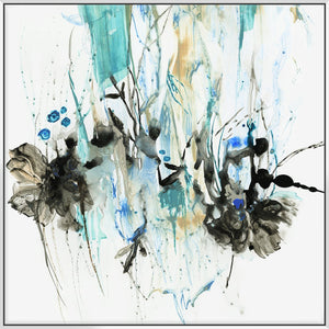 Water Splash Ii 103X103Cm / White