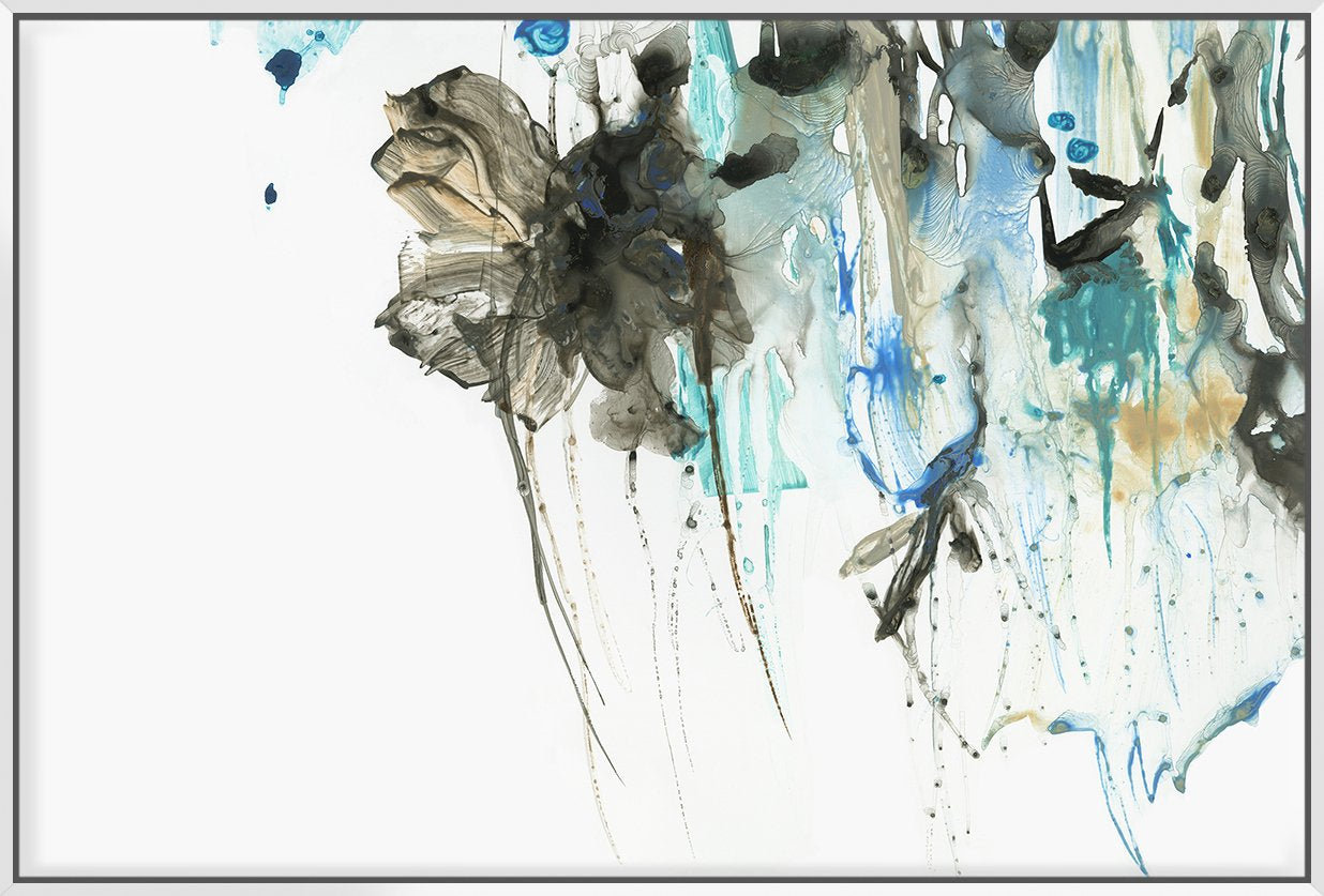 Water Splash 153X103Cm / White