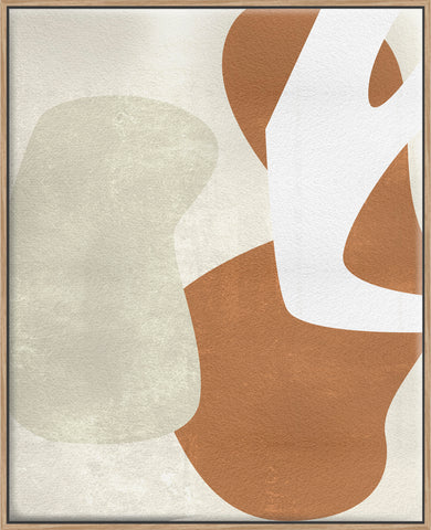 Beige Stucture I - Canvas