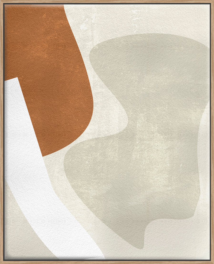 Beige Stucture II - Canvas