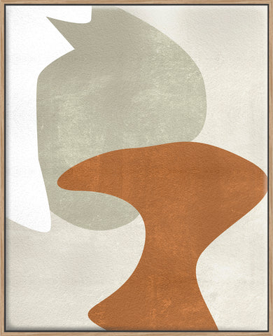 Beige Stucture IV - Canvas