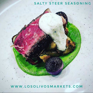 Salty Steer - A Fine Seasoning for Steaks, Exotic Meats, and Wild-Caught Fish