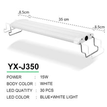 Load image into Gallery viewer, LED Aquarium Lighting 21-45cm High Quality Lamp With Extendable Brackets White And Blue LEDs