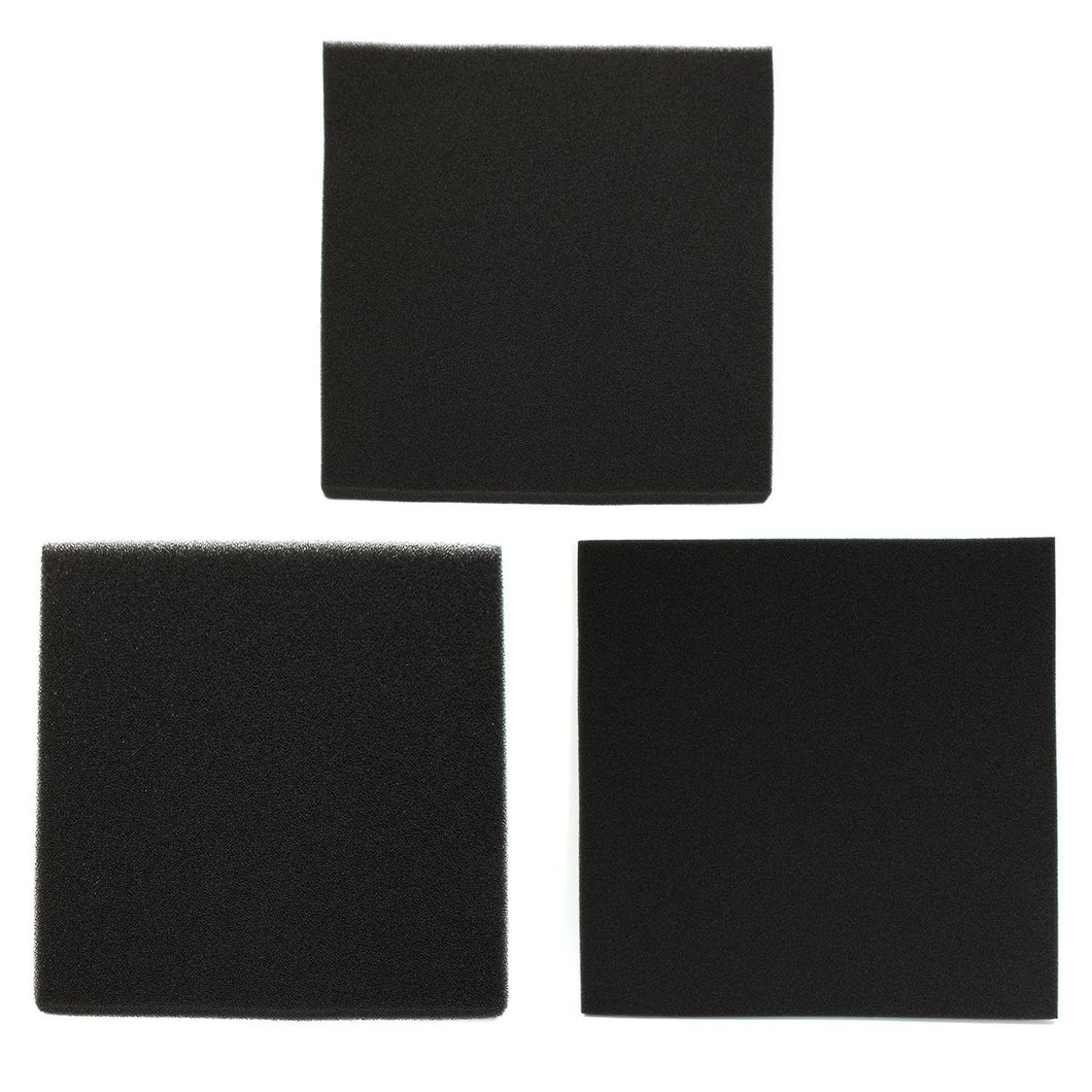 50x50x2cm Black Biological Filter Sponge