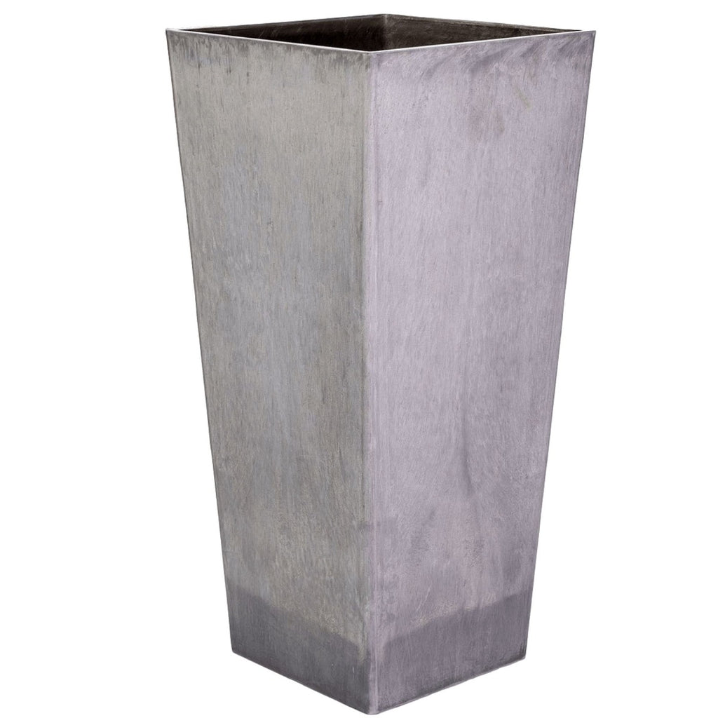 Tall Tapered Square Planter 70cm - HomeOutdoorsDirect