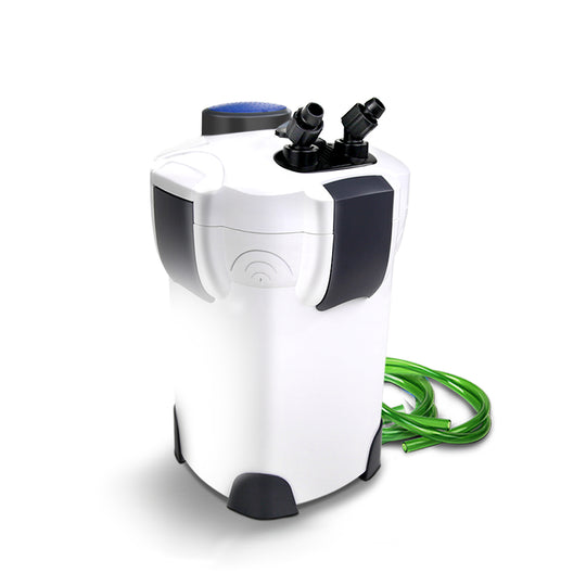 Aquarium External Canister Filter Aqua Fish Tank UV Light with Media Kit 2400L/H - HomeOutdoorsDirect