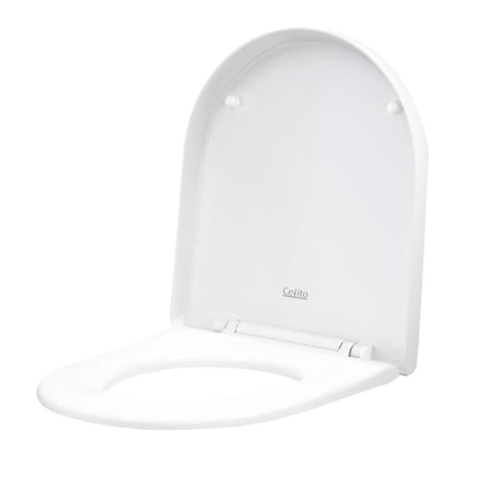 Cefito Soft-close Toilet Seat Cover U Shape Universal Fitting Bathroom Accessory - HomeOutdoorsDirect